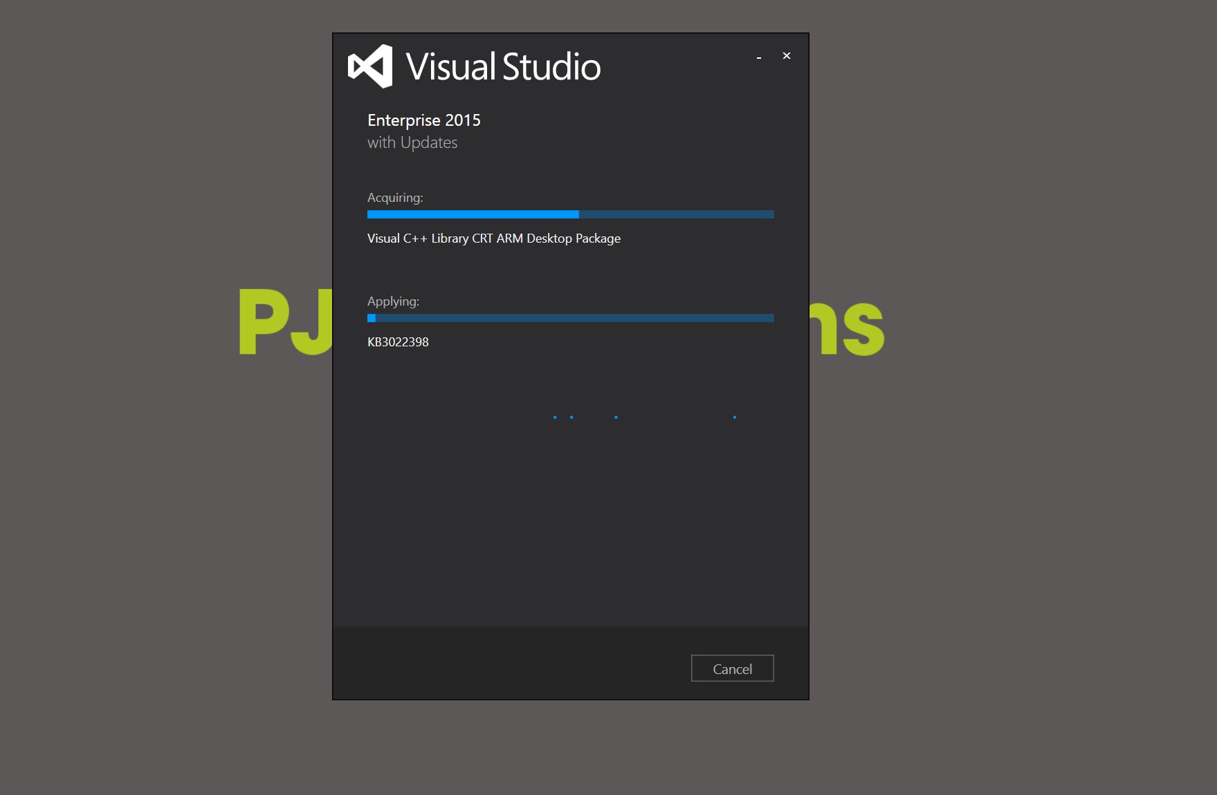 10 - Install Visual Studio