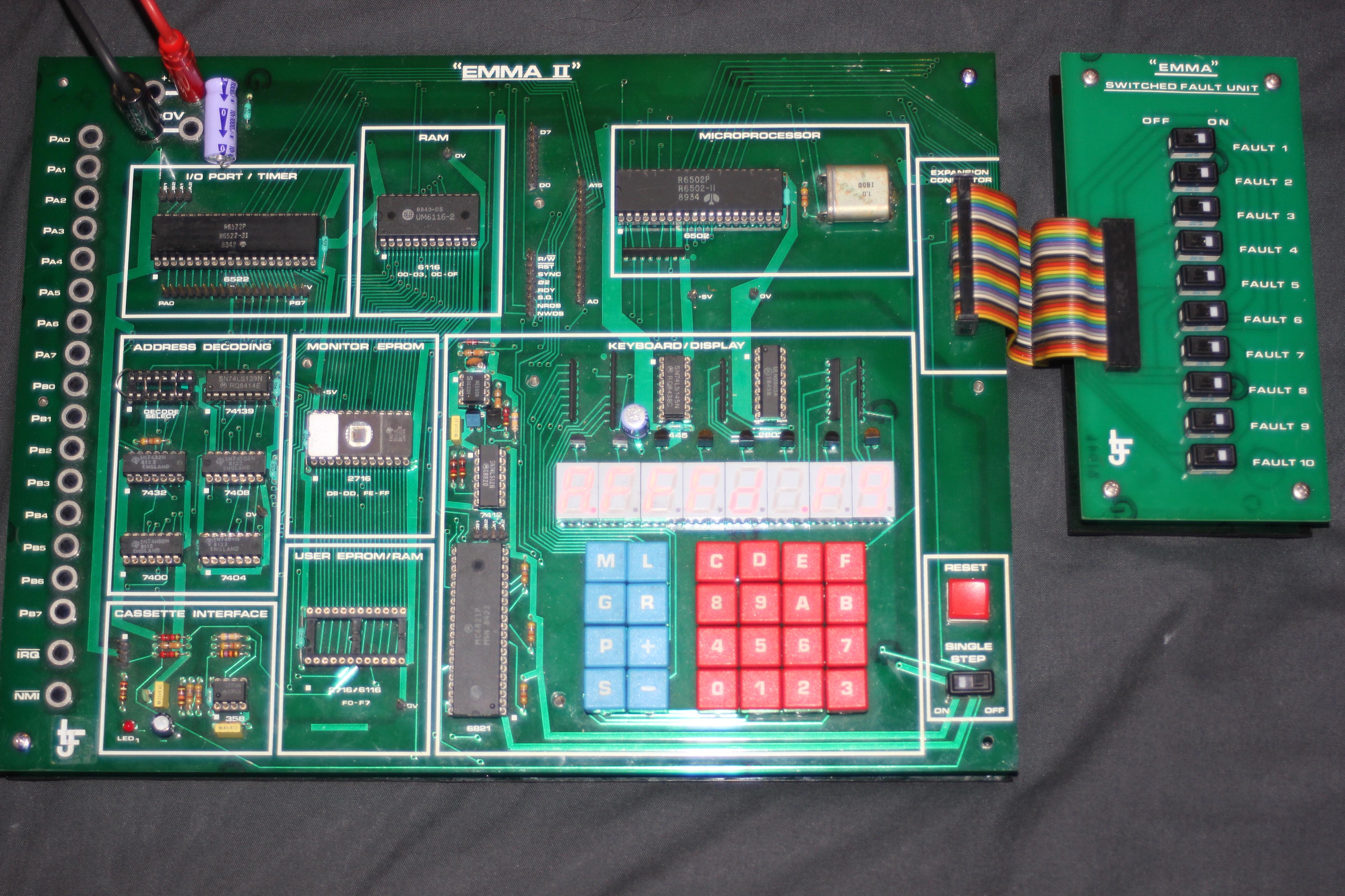 EMMA II 6502 Development Board
